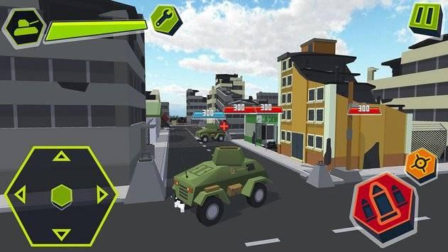 Cube Tanks - Blitz War 3D截图8