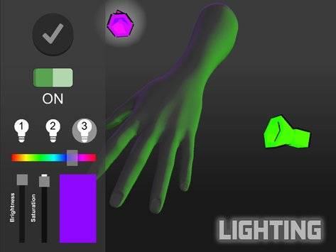 手势模拟截图1