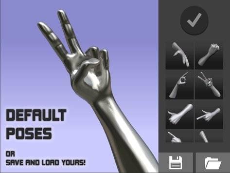 手势模拟截图2