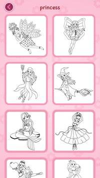 Princess coloring book截图6