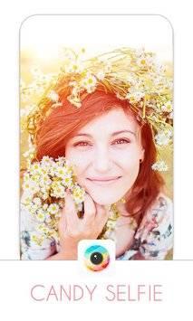 Candy selfie-selfie camera截图0