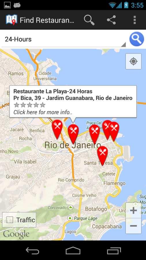 查找我附近的餐厅