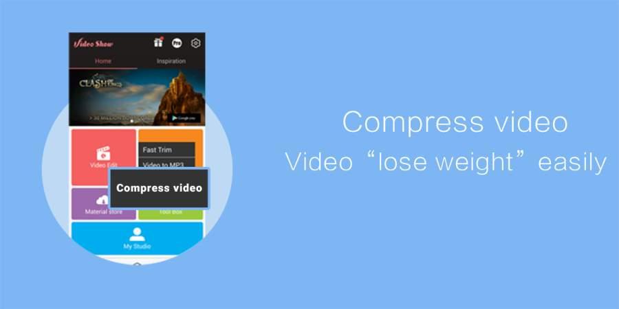 VideoShowLite: Video editor APK截图1