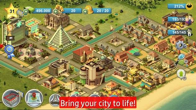 City Island 4: Sim Town Tycoon APK截图1