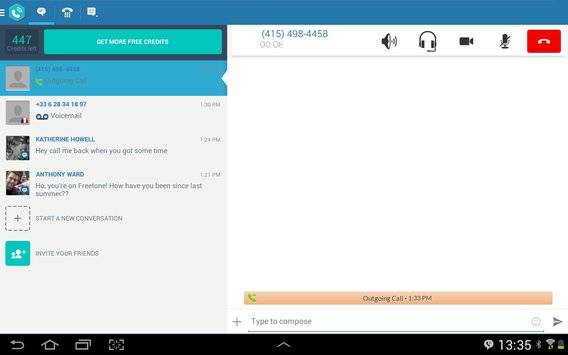 FreeTone Free Calls & Texting APK截图5