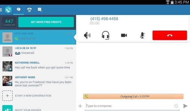 FreeTone Free Calls & Texting APK截图8