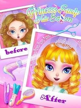 Princess Sandy-Hair Salon截图4