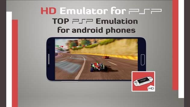 Emulator for PSP HD