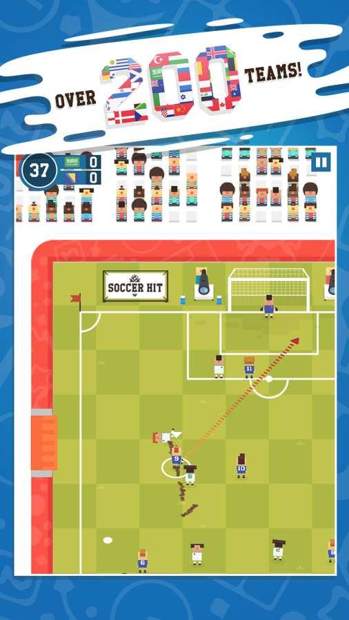 足球碰撞截图0
