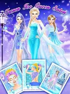 Frozen Ice Queen Salon截图1