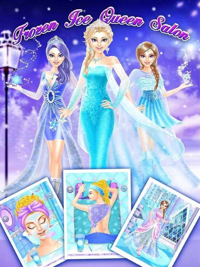 Frozen Ice Queen Salon截图10