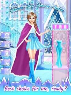 Frozen Ice Queen Salon截图2