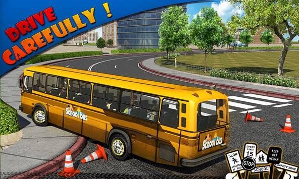 Schoolbus Driver 3D SIM截图1