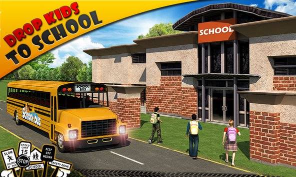 Schoolbus Driver 3D SIM截图2