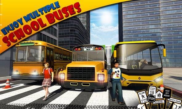 Schoolbus Driver 3D SIM截图3