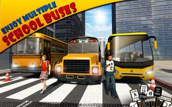 Schoolbus Driver 3D SIM截图8