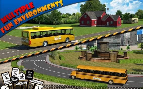 Schoolbus Driver 3D SIM截图9