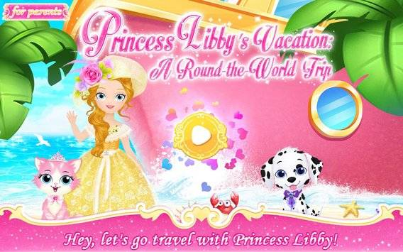 Princess Libby's Vacation截图5