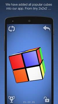 Magic Cube Puzzle 3D截图2