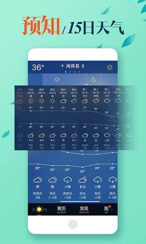 MoMo天气-天气预报专业版