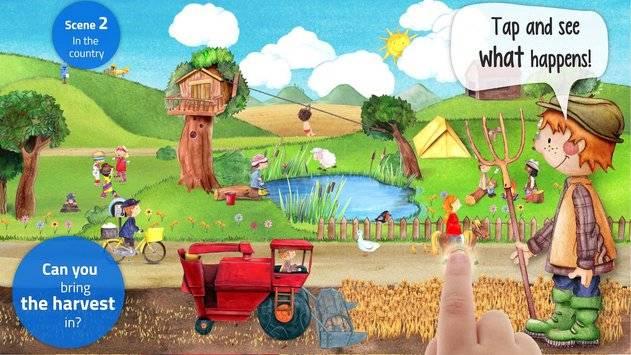 Tiny Farm - App for Kids FREE截图2