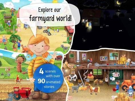 Tiny Farm - App for Kids FREE截图5
