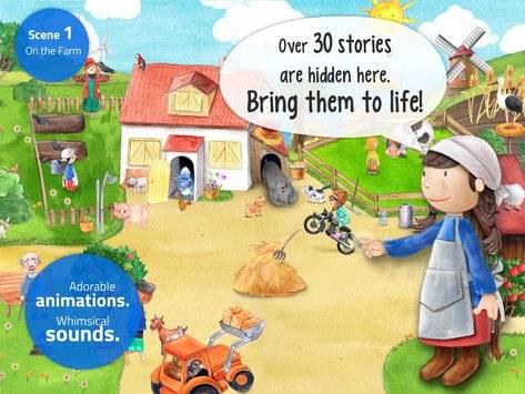 Tiny Farm - App for Kids FREE截图6