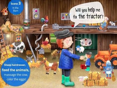 Tiny Farm - App for Kids FREE截图8