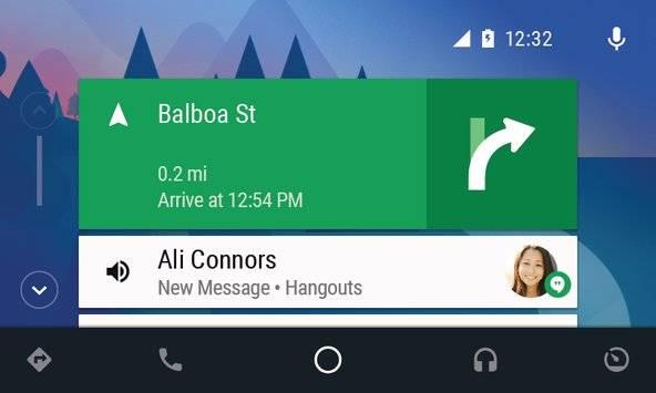 Android Auto截图0