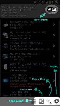 Network IP Scanner截图4