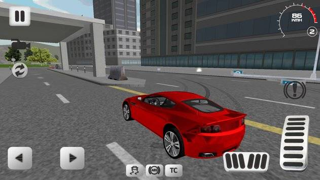 Sport Car Simulator截图0