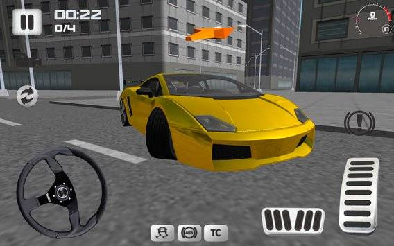 Sport Car Simulator截图8