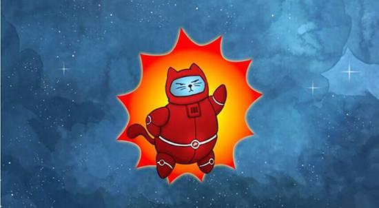 穿太空服的喵星人