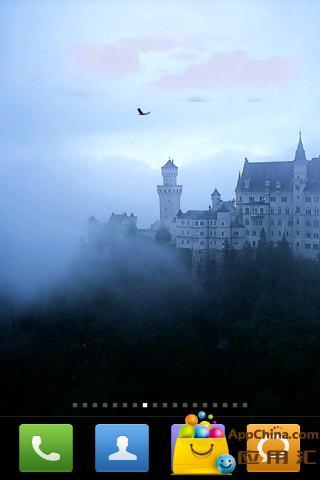 中世纪城堡动态壁纸