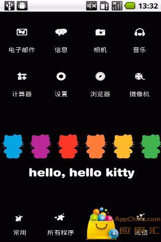 YOO主题-炫彩kitty截图1