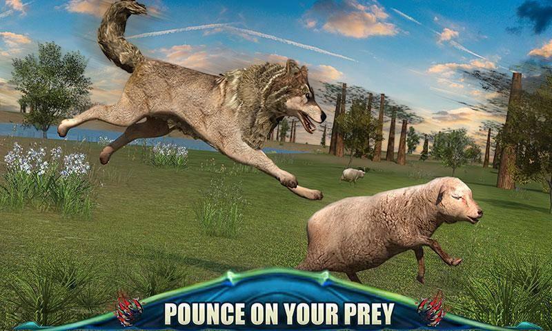 狼的终极冒险3D截图1