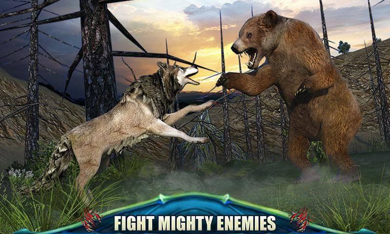 狼的终极冒险3D截图2