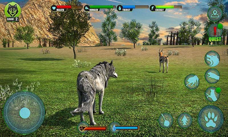 狼的终极冒险3D截图3