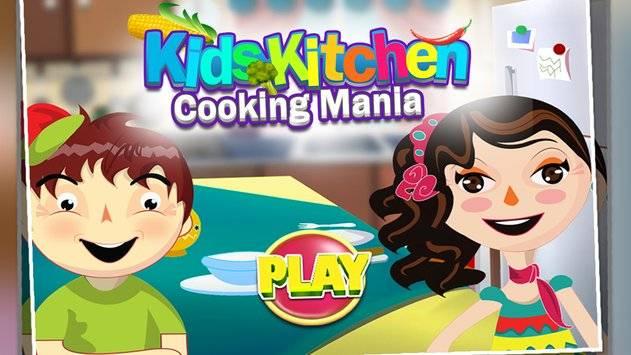 Kids Kitchen Cooking Mania截图0