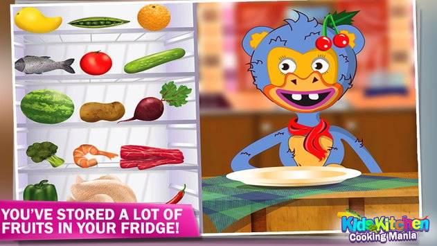 Kids Kitchen Cooking Mania截图5