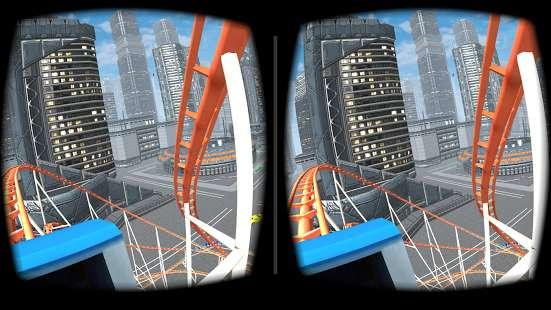 VR Roller Coaster截图1