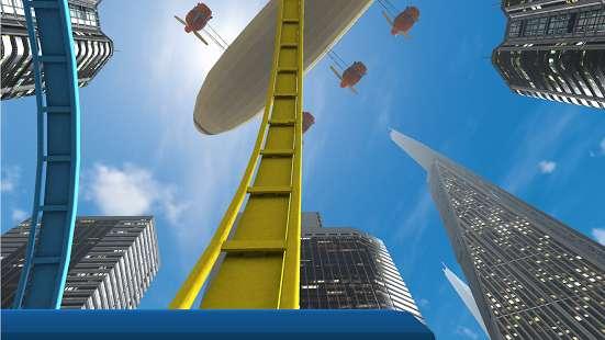 VR Roller Coaster截图2