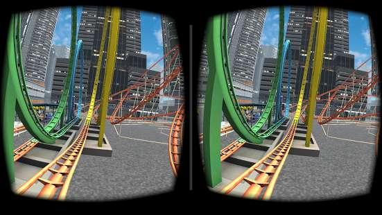 VR Roller Coaster截图3