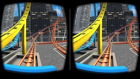 VR Roller Coaster截图4