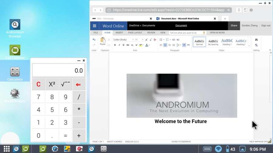 Andromium OS截图3