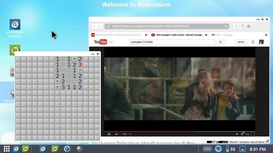 Andromium OS截图4
