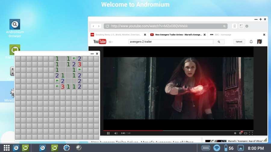Andromium OS截图5
