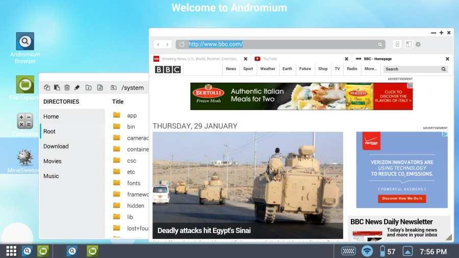 Andromium OS截图6