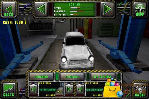 【免費賽車遊戲App】杀虐战车:致命的德比-APP點子
