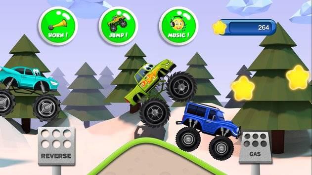 Monster Trucks Game for Kids 2截图5
